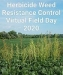 Herbicide Resistant Weed Control Virtual Field Day