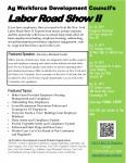 Labor Road Show II - Canandaigua ***CANCELED DUE TO WEATHER/TRAVEL ADVISORY** *