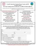 Pre-Exam Training & Test to become a Certified Pesticide Applicator - Pre-Register by 3/4/19!!