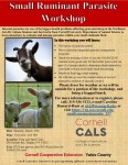 Internal Parasites in Sheep & Goats IPM/FAMACHA Workshop, Pre-Register by 3/28