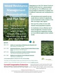 Weed Resistance Management Demonstration and Plot Tour