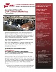Cow Comfort Program- Freestall