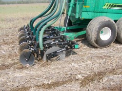 Manure Injection vs. Surface Application
