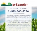 NY FarmNet Continues to Offer Free Services - Call 1-800-547-3276