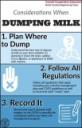 Considerations for Dumping Milk